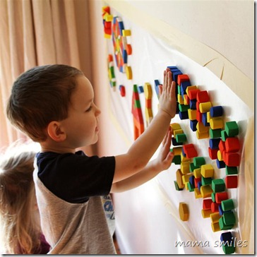 sensory mosaic for kids
