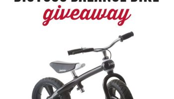 Teaching Balance With Bicycles By Chillafish Giveaway