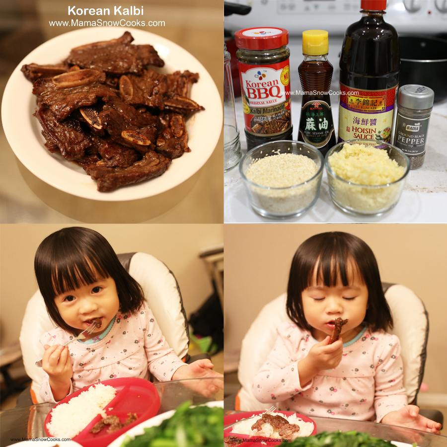 Korean Kalbi Recipe Mama Snow Cooks And More