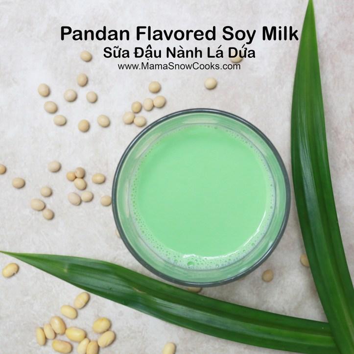2 Soy Milk Pandan Flavored