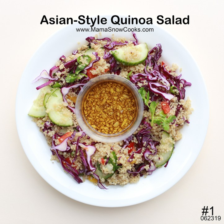 Asian-Style Quinoa Salad 062319 MSC