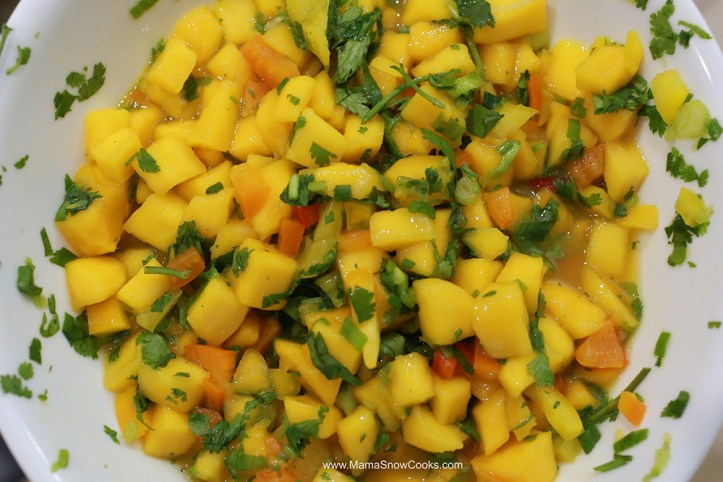 Mango Salsa with Salmon 070719 (1)