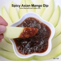 Spicy Asian Mango Dip