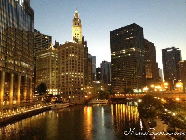City Sunrise-Watermarked