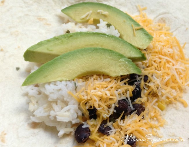 Cropped Prepared Burrito