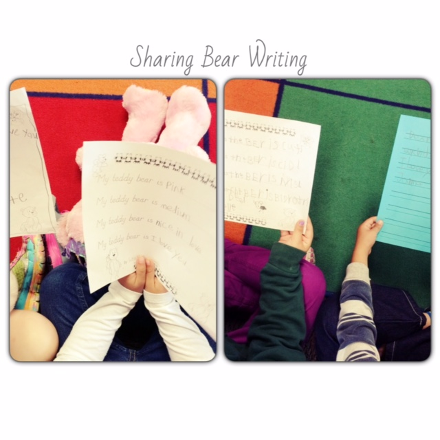 Bear Writing