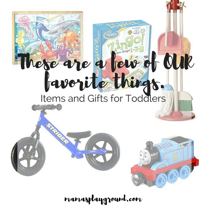 Items and Gifts for Toddlers