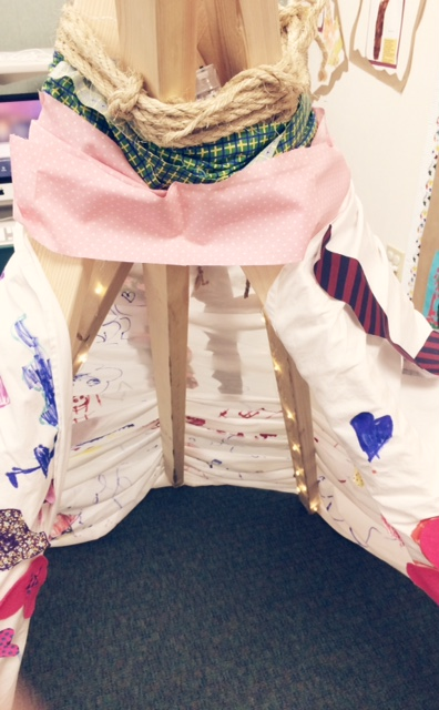 Design a class teepee for your classroom library.