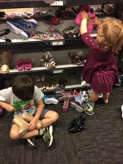 Conscious shoe shopping
