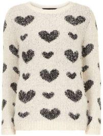 Suéter blanco y negro - Dorothy Perkins - 49 dólares