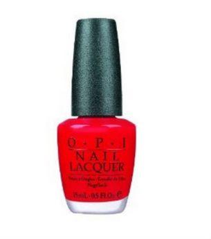 Esmalte de uñas rojo- 8 dólares - drugstores