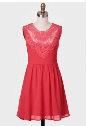 Vestido romántico - 58 dólares en Shopruche