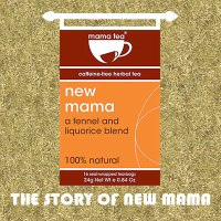 Breastfeeding Tea - The Story of New Mama Breastfeeding Herbal Tea