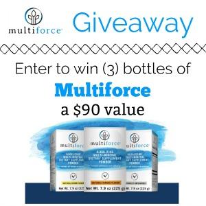 Multiforce Giveaway 8/31 @Multiforce_USA