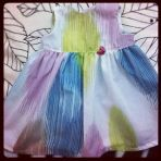 vestido para niñas