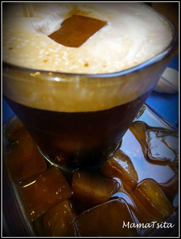 παγάκια καφέ