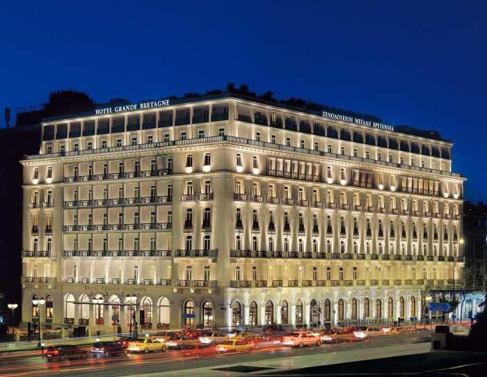 Hotel Grande Bretagne - Exterior 3