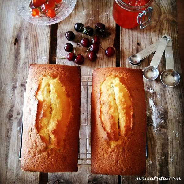 κέικ κεράσια