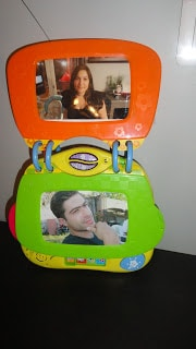 Cadre album photo interactif de VTECH