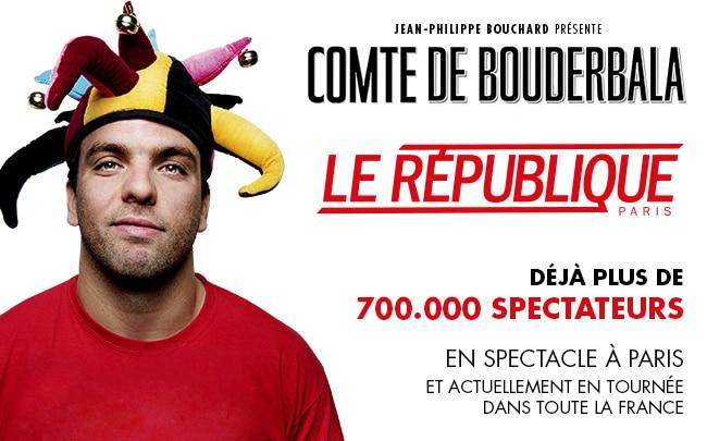 Le Comte de Bouderbala, un spectacle tordant !
