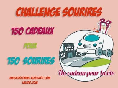 Comme moi, soutenez le Challenge Sourires :-)