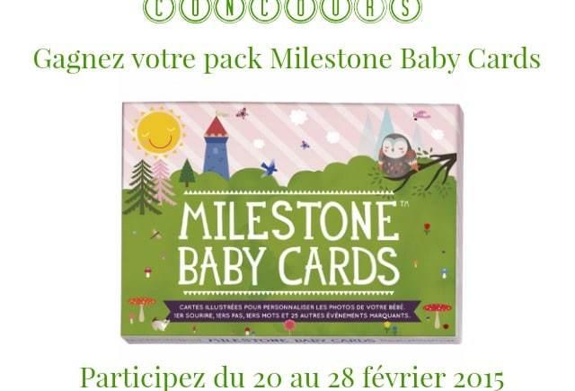 Immortaliser ses plus beaux moments avec Milestone Baby Cards
