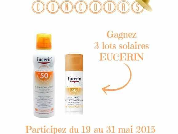 Protégez-vous du soleil avec Eucerin