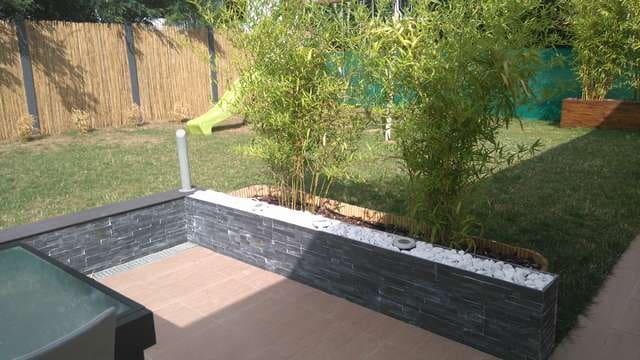 Mon jardin zen d co mama twins for Decoration terrasse avec bambou