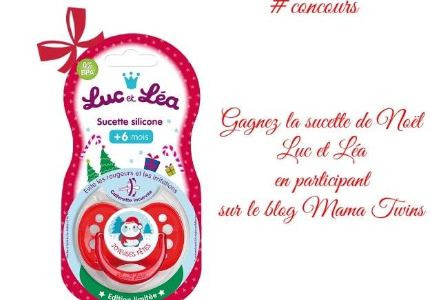 La sucette de Noël Luc et Léa
