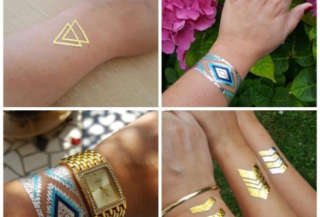Les tatouages éphémères de La Boite A Tattoo