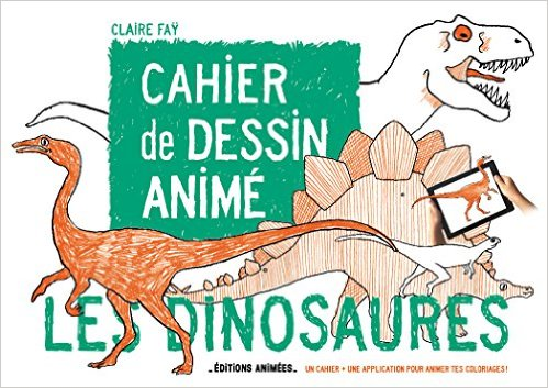 "Cahier de dessin animé ""Les dinosaures"""