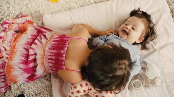 Bisouiller du bébé