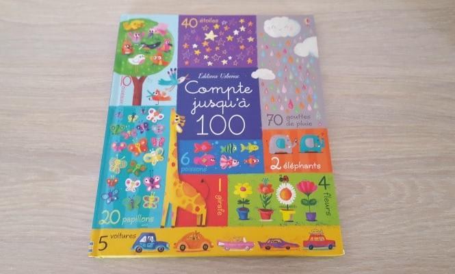 """""""Je compte jusqu'à 100"""" aux Editions Usborne"""