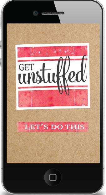 Unstuffed app
