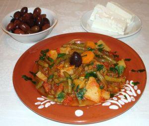 φασολακια-φρεσκα-λαδερα