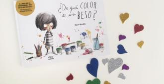 De que color es un beso