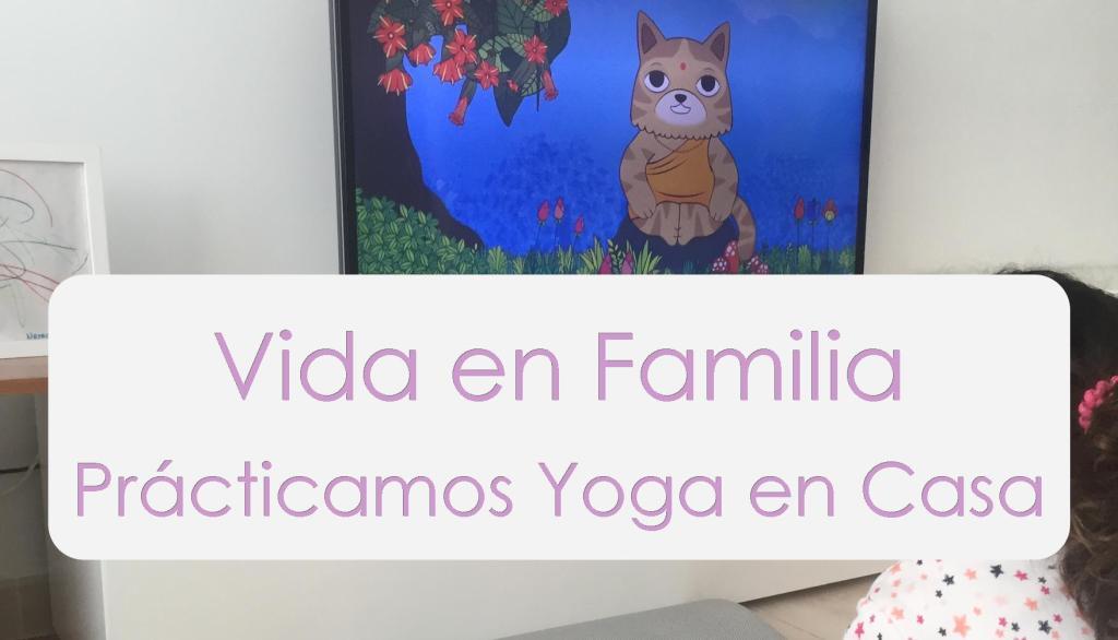 aprendemos yoga con la tv