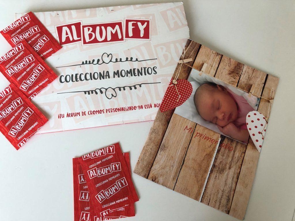 regalos personalizados album de cromos