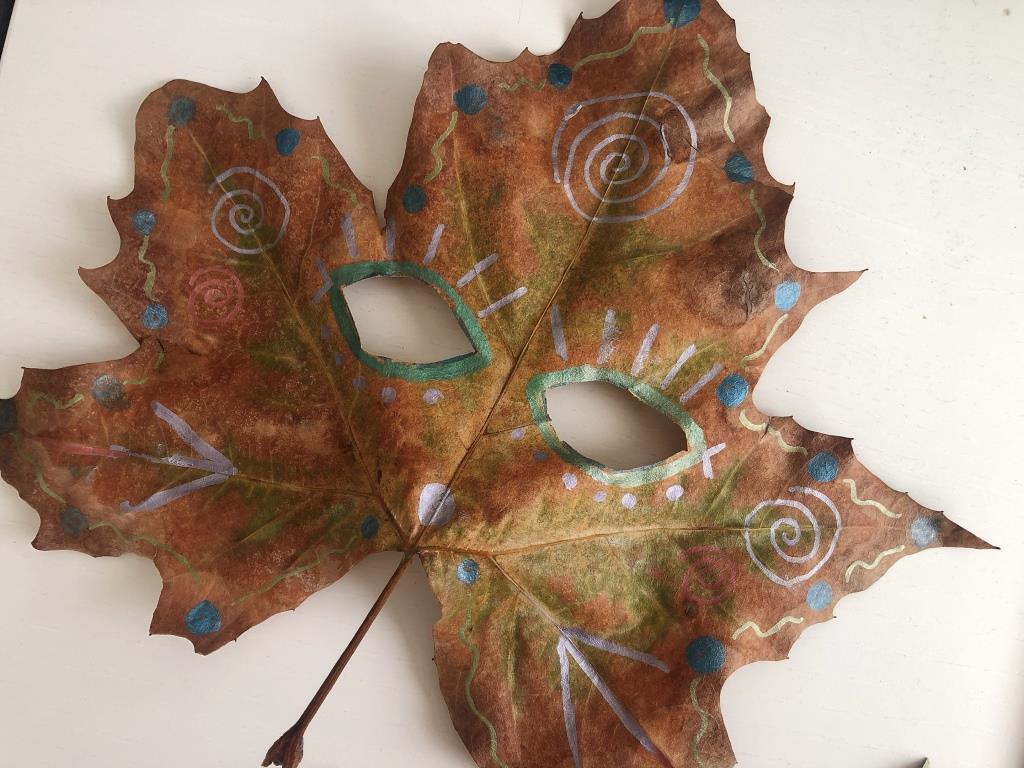 ideas divertidas con hojas de otoño