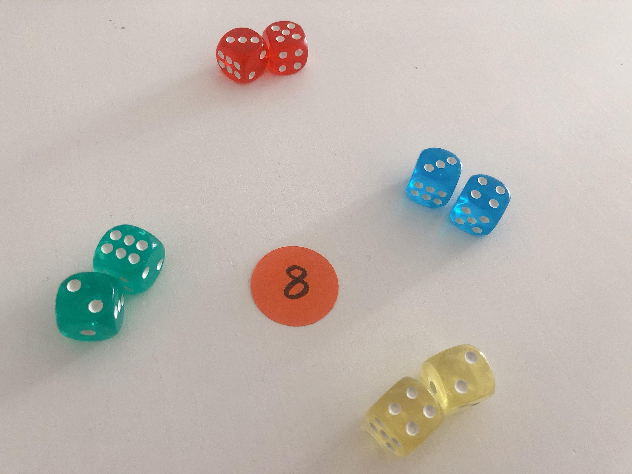 juegos matematicos con dados
