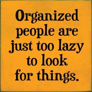 Organización trabajo/casa