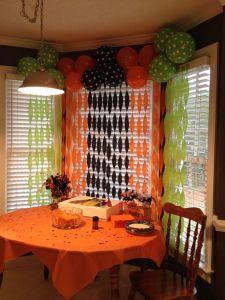 Decoración para fiesta de Halloween