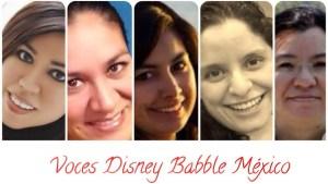 Las voces mexicanas de Disney Babble latino
