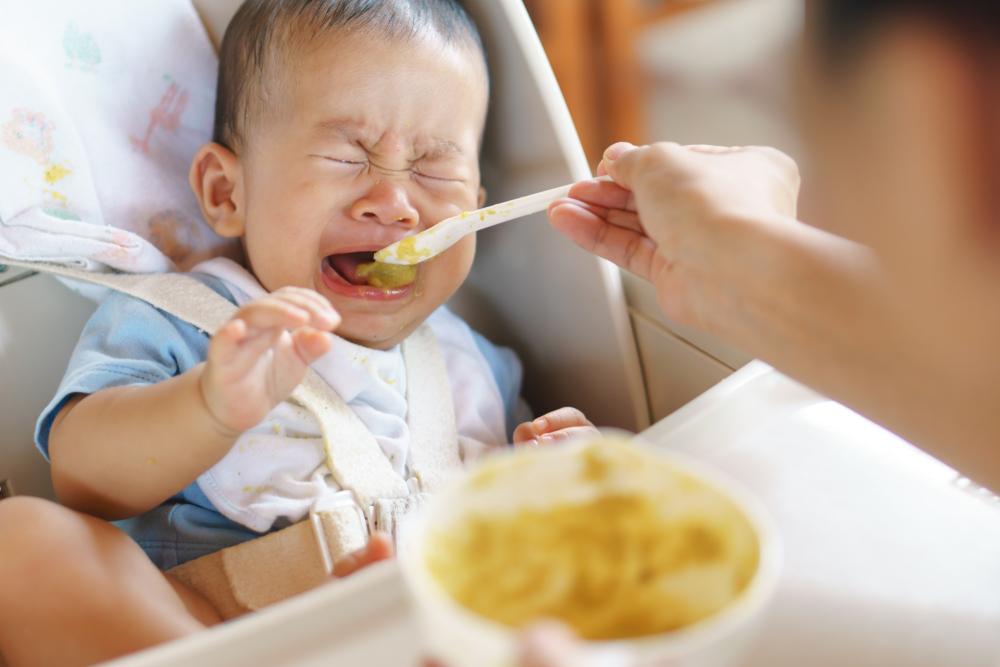 mi bebe no quiere comer que hago