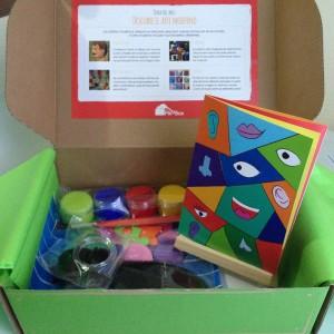 2 actividades de arte para niños: Cajita Pikabox