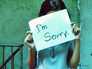 No sirve de nada pedir disculpas a tu hijo