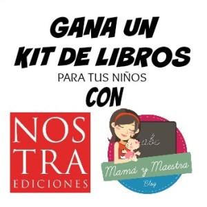 Sorteo! Kit de libros de Nostra Ediciones