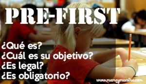 ¿Qué es el pre-first? ¿Es legal, funciona?