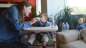 3 razones para hidratar a tu bebé