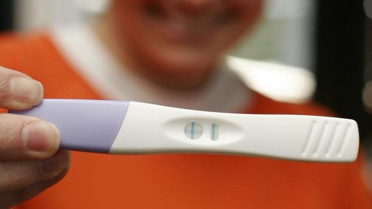 Prueba negativo un una en de dar embarazo falso sangre puede